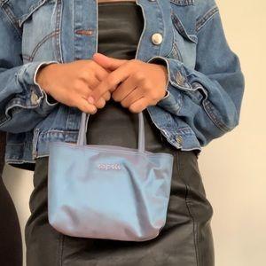 Vintage Esprit iridescent mini bag.
